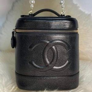 Authentic Vintage Chanel Vanity Bag.